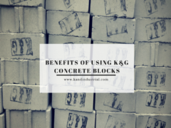 Benefits of using concrete blocks