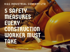 5 safety measure every construction worker must take