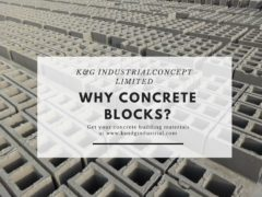Why concrete blocks?
